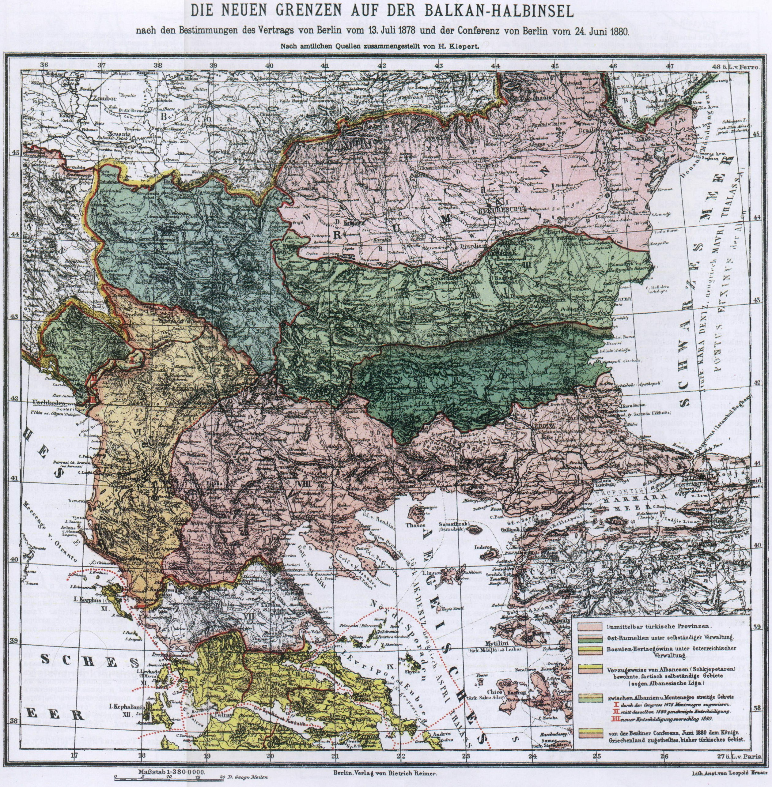 Historical Maps of the Balkans